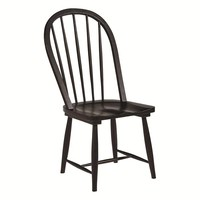 Magnolia Home Primitive Windsor Chair in Jo's Black