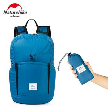 NatureHike Foldable Backpack Ultra Lightweight Packable Backpack Hiking Daypack 30D Waterproof Handy Camping Outdoor Backpack