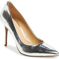 MICHAEL Michael Kors Claire Metallic Pointy Toe Pump (Women) | Nordstrom