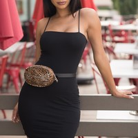 Yvonne Mini Dress - Black