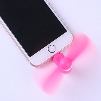 Super Cute Mini iPhone Personal Fan