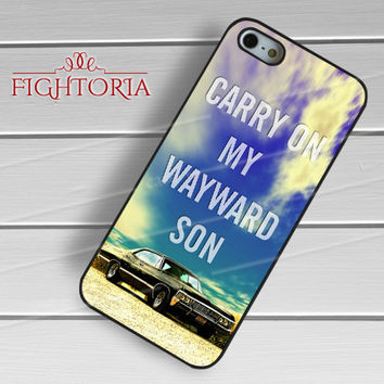 SUPERNATURAL CARRY ON-11nya for iPhone 6S case, iPhone 5s case, iPhone 6 case, iPhone 4S, Samsung S6 Edge
