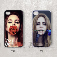 Phone Cases, iPhone 5 Case, iPhone 5s Case, iPhone 5c case, iPhone 4 Case, iPhone 4s case, Lana Del Rey, Case for iphone, Case No-22