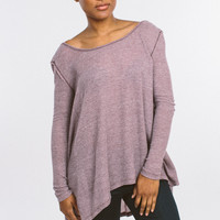 Free People The Incredible Tee - Purple