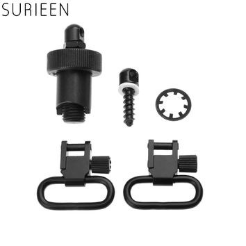 SURIEEN Hunting Rifle Gun Accessories Quick Detachable Sling Swivels Cap Set Bolt Set For Mossberg 500 /Maverick 88-12Ga Shotgun