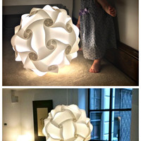 Infinity Puzzle Light Kit with Cord & Color Changing Light Bulb