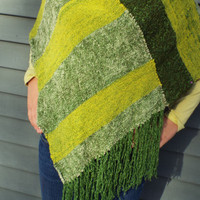 Bright Green Shawl Perfect for St. Patty's