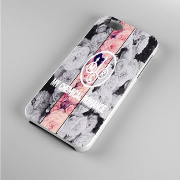 my chemical romance flower Iphone 5s Case
