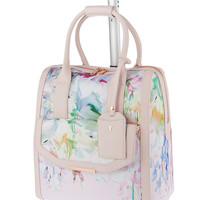 TED BAKER Hanging Gardens two-wheel travel bag