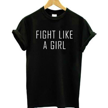 Fight Like a Girl T-Shirts - Women's Top Tee