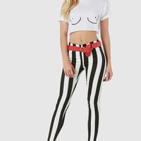 Line Ref Striped Pants