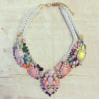 Bohemian Wanderer Statement Necklace - Limited Edition