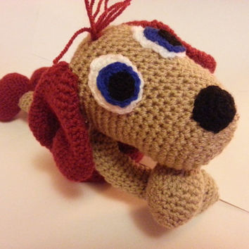 Crochet Dog, Little Dog, Stuffed Toy