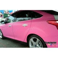 5ft x 4ft (20 Sq/ft) 3M MATTE Pink M103 Scotchprint Car Wrap Vinyl Film 1080 Series