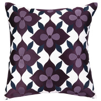 PHI Coco's Flower Embroidered Pillow