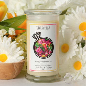 Honeysuckle Blossom Ring Candle