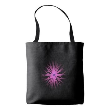 Geo Flower Tote Bag