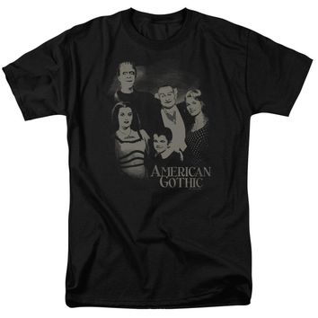 The Munsters - American Gothic Short Sleeve Adult 18/1