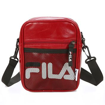 Fila Women Men Fashion Leather Satchel Shoulder Bag Handbag Crossbody