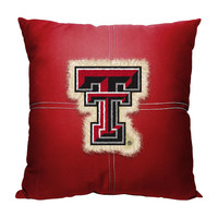 Texas Tech Red Raiders NCAA Team Letterman Pillow (18x18)