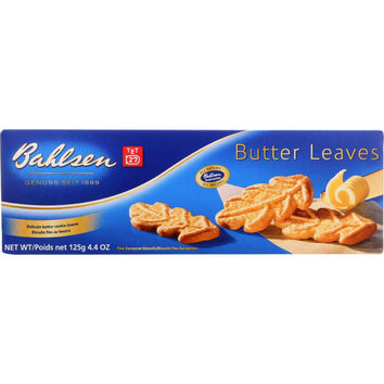 Bahlsen Cookies - Butter Leaves - 4.4 Oz - Case Of 12