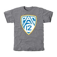UCLA Bruins PAC-12 Team Colors Tri-Blend T-Shirt - Ash