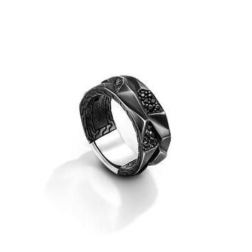John Hardy classic chain collection band ring