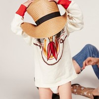 Free People Vintage Kids Tee