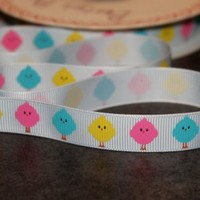 Funky Chick Ribbon - Scratchy Cat Crafts