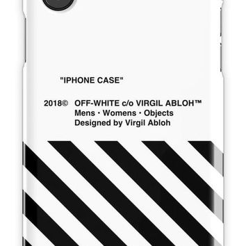 Off White 4 Mobile Cover