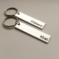 Khal and Khaleesi keychains - Couples keychains - Game of Thrones