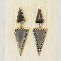 Smoke Giza Earrings