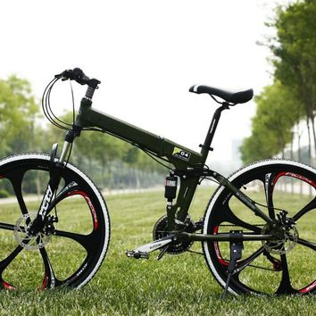 26 inch 27 speed M390 Set transmission shocking proof frame folding bike mountain bike MTB Bike outdoor downhill bicycle