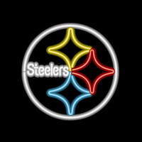 Pittsburgh Steelers NFL 23 Inch Team Neon Sign