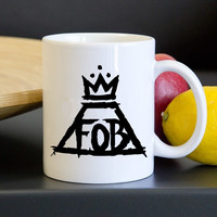 Fall Out Boy Logo Mug, Tea Mug, Coffee Mug