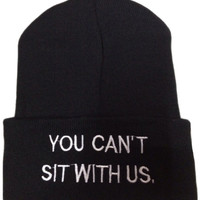 Beanie - Sit With Us - Snapbacks & Beanies - Women - Modekungen