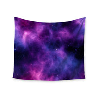 "Chelsea Victoria ""Infinity "" Purple Fantasy Wall Tapestry"