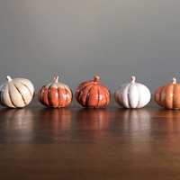 mini decorative pumpkins