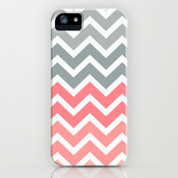 Chevron Pink Fade iPhone Case by Rex Lambo | Society6