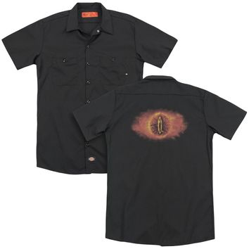 Lor - Eye Of Sauron (Back Print) Adult Work Shirt