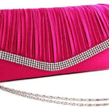 Clutch Purse With Rhinestones Wedding Evening