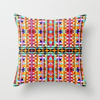 Eye Play Throw Pillow by k_c_s