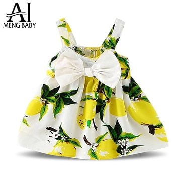 Ai Meng Baby Kids Party Wear Dresses For Girls Holiday Costume Children's Boutique Clothing Toddler Girl 1 Year Birthday Dress