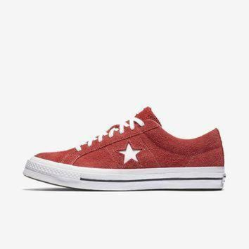 DCCK1IN converse one star premium suede low top