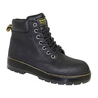 Dr. Martens Men's Winch Steel-Toe Boots - Black