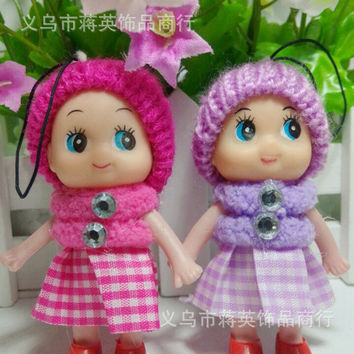Gift Baby plush doll suffed toy min bag cell phone for kids dolls stuffed toys doll 1pcs/lots PT28