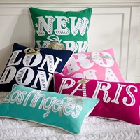 Jet Setter Pillow Covers