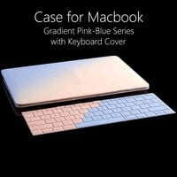 Hard Case for Macbook Pro 13 15 Laptop Bag Cases with Keyboard Cover for Mac Book Air 11 13 Case Shell