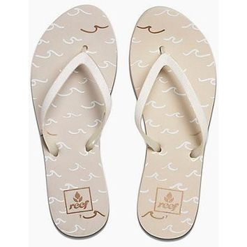 Reef Women's Stargazer Prints - Cream