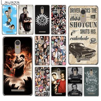 Lavaza Supernatural Jensen Ackles Dean Winchest Phone Case for Xiaomi Redmi 4A S2 6 Note 5 Plus 3 3S 4 Pro 4X 5A Prime Cover